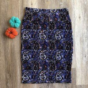 LuLaRoe paisley pencil skirt